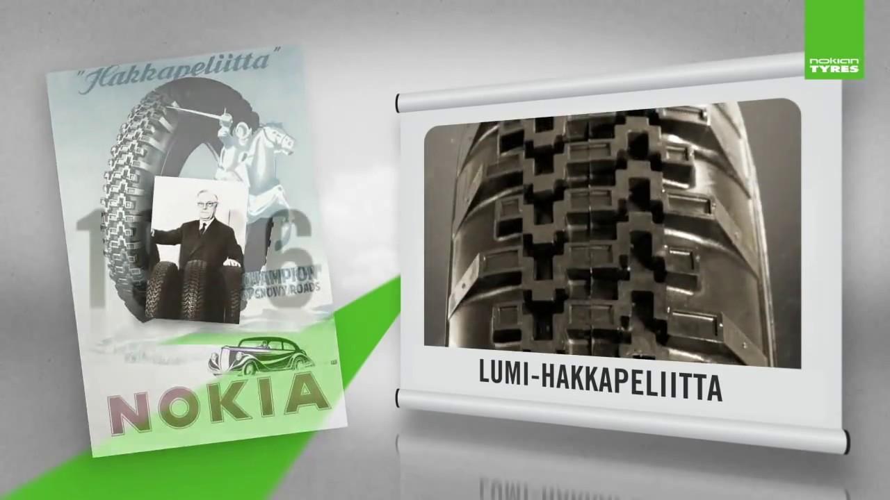 il y a 80 ans nokian tyres inventait le pneu hiver. Black Bedroom Furniture Sets. Home Design Ideas