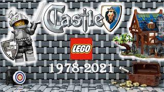 Lego Castle sets history (1978-2021)