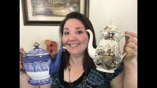My TOP 10 Favorite Teapots