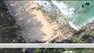 Пляж Найтон, Пхукет, Таиланд / Naithon Beach, Phuket, Thailand: обзор с дрона(Пляж Найтон: пологий берег, слабые волны, - вот что делает этот пляж одним из лучших для купания с маленькими..., 2015-12-13T05:35:13.000Z)