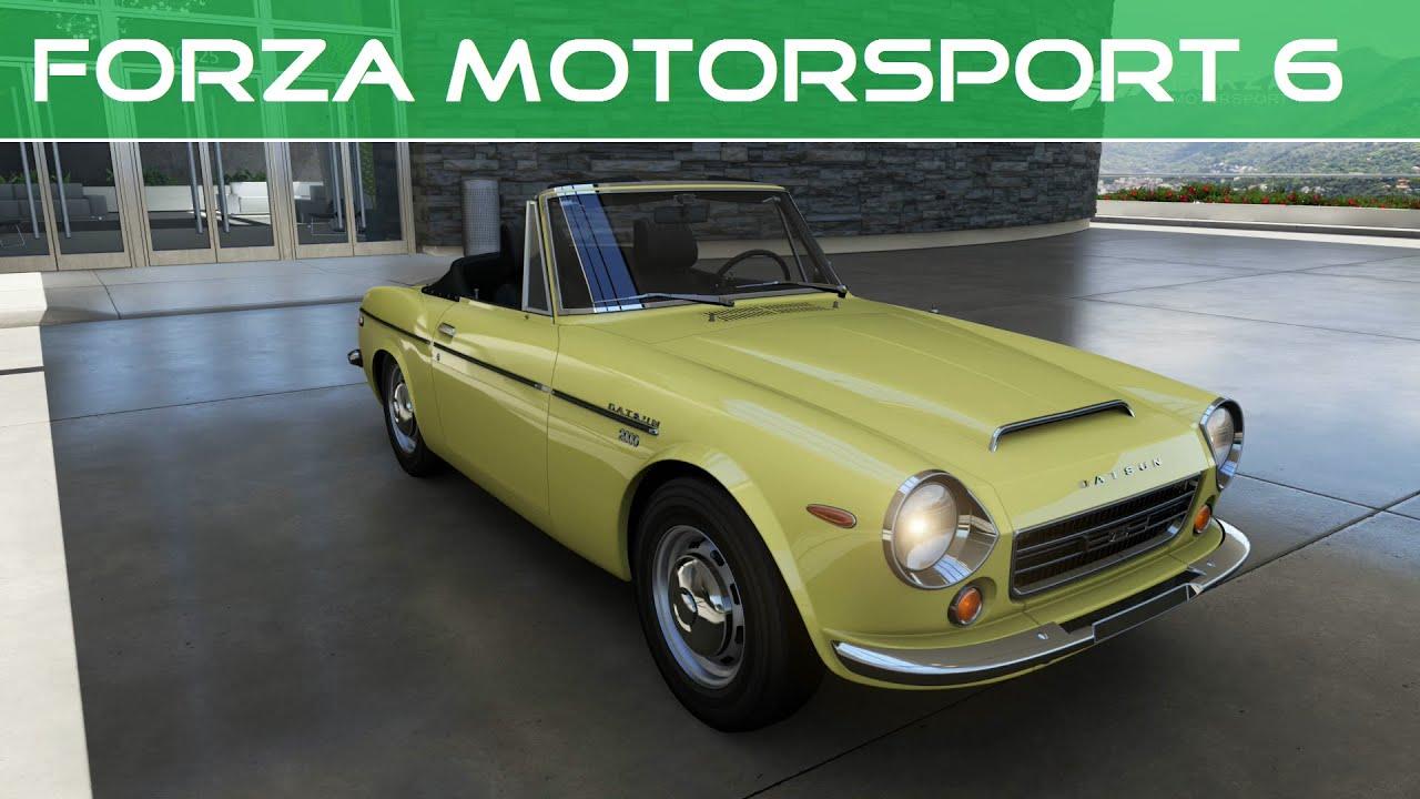 Forza Motorsport 6 1969 Datsun 2000 Roadster Ebay