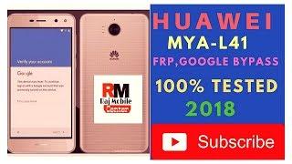 Huawei Y6 (2017) MYA-L41 Remove Google Account  New Method 2018