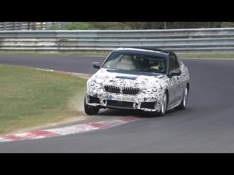 SPYSHOT | 2018 BMW 6 series GT testing HARD at the Nurburgring!