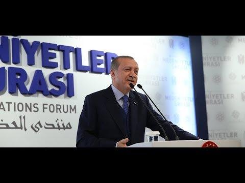 Cumhurbaşkanı Erdoğan, Uluslararası Medeniyetler Şurası Açılışı'nda konuştu