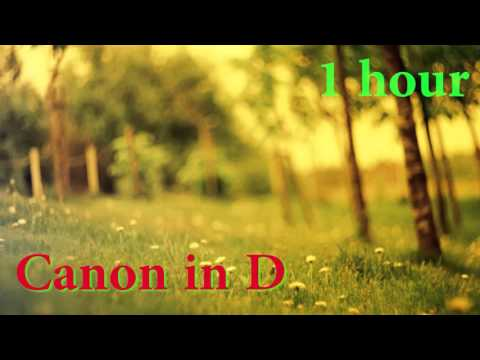 Pachelbell - Canon In D Piano 1 Hour