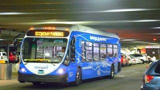 Massport (Boston Logan Airport): 2012 NABI 42-BRT (CNG) #4201 ~ Cummins ISL-G