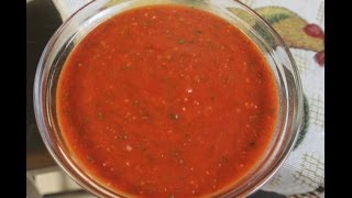 The World's  Best Marinara Italian  Sauce Recipe