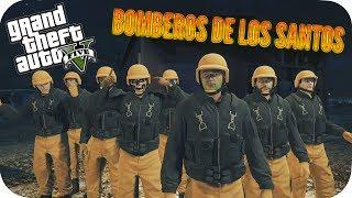 LOS BOMBEROS DE LA MUERTE GTA V ONLINE CON SUBS GAMEPLAY ESPAÑOL PS4