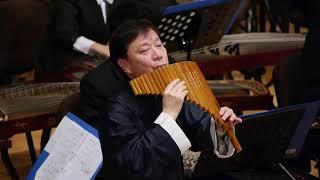 Hoà tấu Gió xuân | Sáo quạt cùng dàn nhạc dân tộc | Giáo sư Trần Đông Minh | Sáo trúc Trung Hoa
