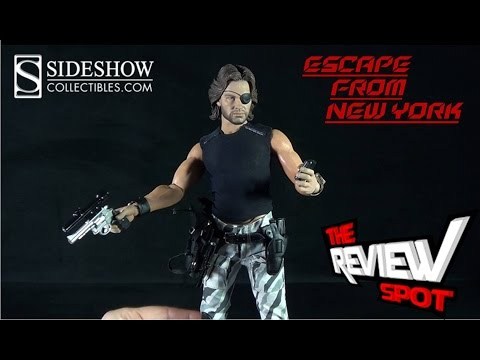 Collectible Spot - Sideshow Collectibles Escape from New York Snake Plissken Sixth Scale Figure