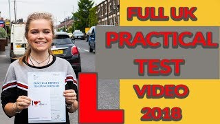 """Full Real Uk Practical Driving Test Pass Video 