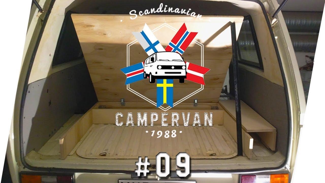 bettkasten bauen vw t3 syncro camper ausbau conversion 9 i campingbus youtube. Black Bedroom Furniture Sets. Home Design Ideas