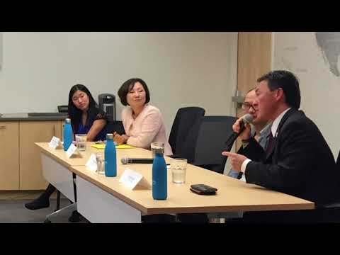 Korean Americans in Government Sector Panel Discussion