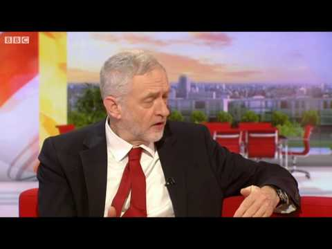 "Corbyn accuses the BBC of ""fake news"""