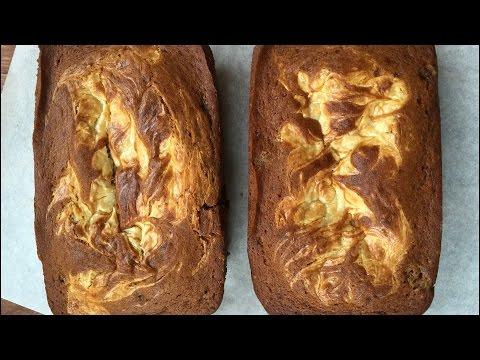 CREAM CHEESE PUMPKIN BREAD with APPLE CHAI TEA
