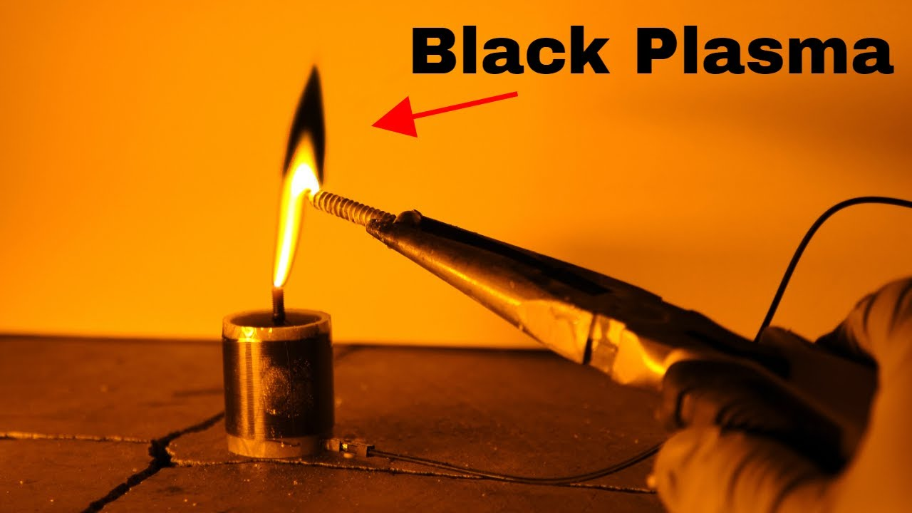 Making The World's First Black Plasma (Black Fire Version 2.0)