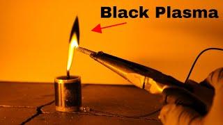 Making The World's First Black Plasma (Black Fire Version 2.0)