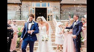 Tina  Dan Wedding  Brookfield Barn