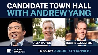 Live Town Hall with Andrew Yang, Alex Morse, and Robbie Goldstein