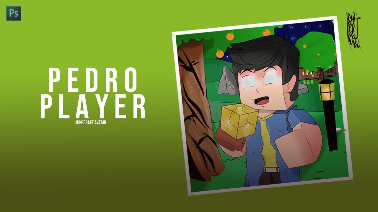 Speedart - Pedr0Player /Minecraft Avatar (Adobe Photoshop)