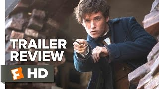 Fantastic Beasts and Where to Find Them Trailer Review (2016) - Eddie Redmayne Movie