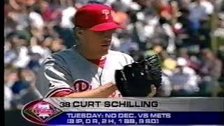 1998 Phillies at Atlanta   Curt Schilling vs Greg Maddux