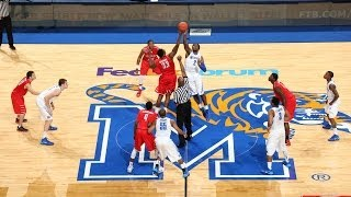 memphis basketball grinds out 77 65 win over southeast missouri