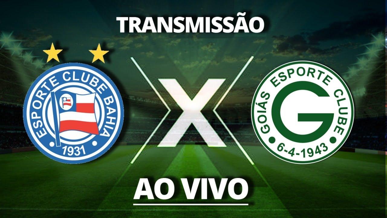 Acompanhe o jogo entre Bahia X Goias pela 35ª rodada do Campeonato Brasileiro Série A