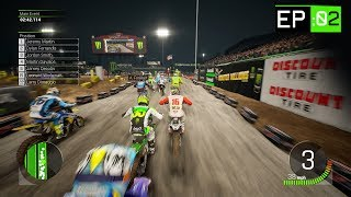 Monster Energy Supercross 2 - Part 2 - Las Vegas Race!