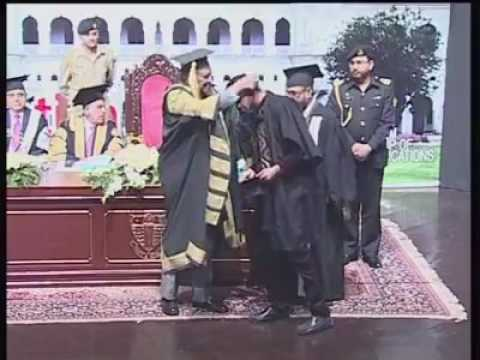 Position holders of 125th convocation of Govt Islamia College, Railway Road Lahore