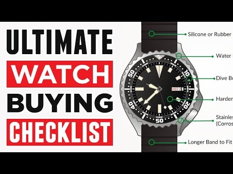Best Watch Buying Guide For Men | Ultimate Checklist To Buy The Right Timepiece | RMRS Style Video