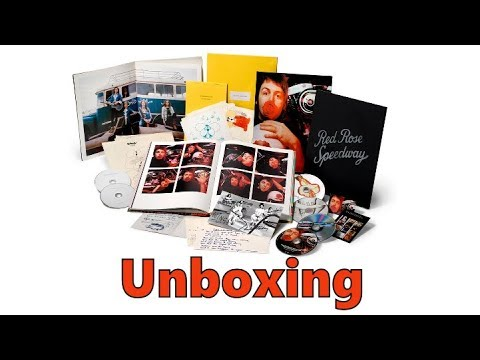 Paul McCartney And Wings Red Rose Speedway Deluxe Boxset Unboxing