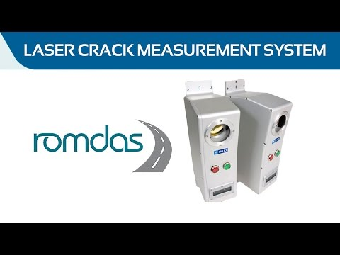 ROMDAS Laser Crack Measurement System (LCMS)