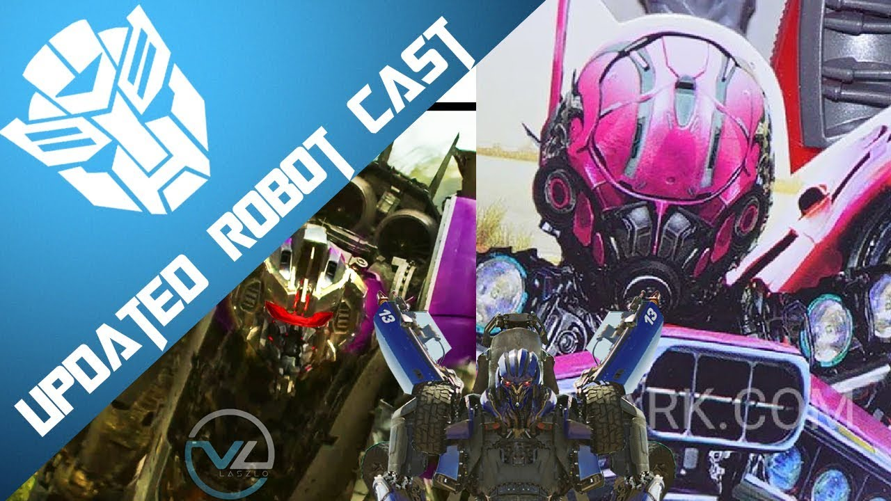 Bumblebee The Movie Robot Cast Updated Youtube