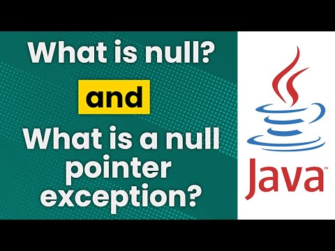 What Is Null And A Null Pointer Exception? (Java Tutorial)