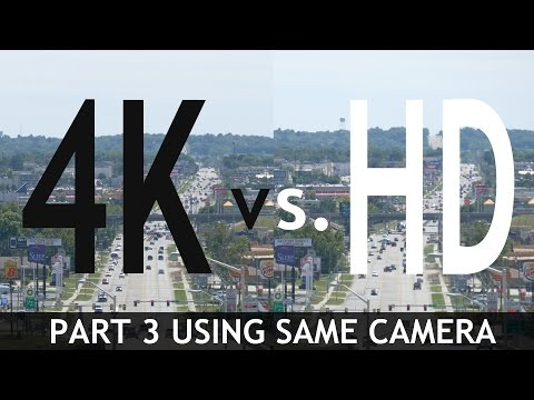 Thumbnail: 4K VS HD: Side By Side Comparisons (Part 3) (Using Same Camera)