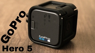 GoPro Hero 5 Session camera Review - camera 4K waterproof