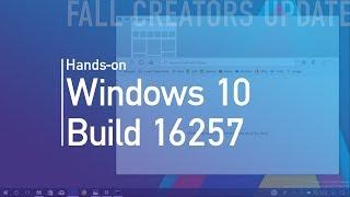 Windows 10 build 16257: Hands-on with Edge Fluent Design, CMD new color scheme, Eye Control