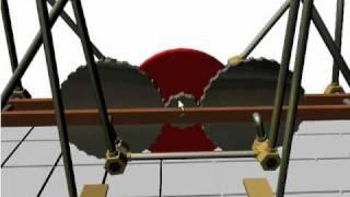 Онлайн 3D модель стопохода Чебышева