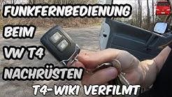 Universal Funkfernbedienung beim VW T4 Nachrüsten - T4-WIKI Verfilmt