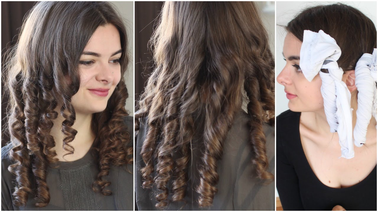 Victorian Rag Curls | Historical Hairstyling Tutorial ...