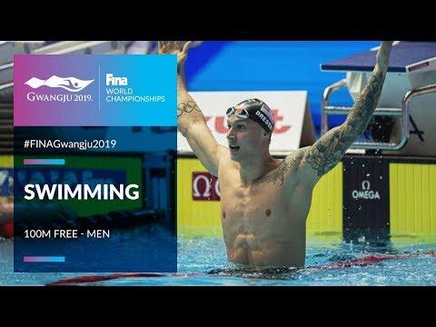 Swimming Men - 100m Freestyle   Top Moments   FINA World Championships 2019 - Gwangju