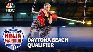 John Loobey at the Daytona Beach Qualifiers - American Ninja Warrior 2017