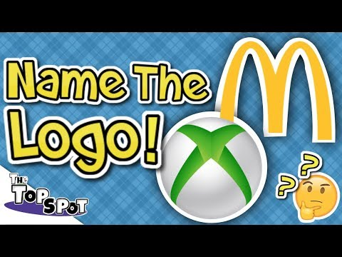 GUESS THE LOGO!! - HARD Logo Guessing Challenge! - The TOPSPOT
