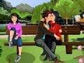 naughty boy kissing new kissing games 2014