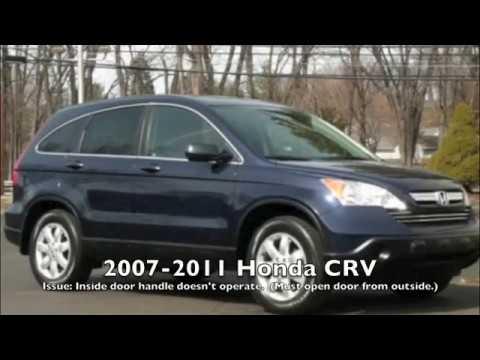 How To Fix Interior Door Handle On 2007 2011 Honda Crv Easy Fix Youtube