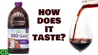 Tasting Wine Made fŗom Store Bought Juice