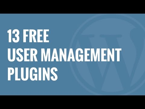 13 Free User Management Plugins for WordPress