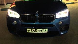 Ночной Тест Драйв / Drive Test - BMW X5 M F 15 Stock H 4.1, 100-200 km/h 10.5