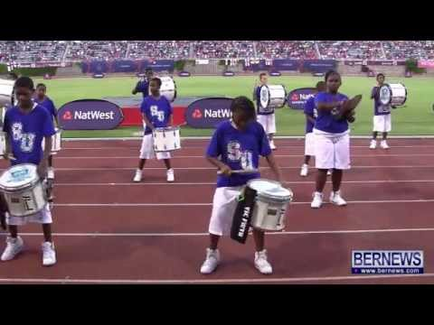 Sandys Showtime Drumline At NatWest Island Games, July 13 2013